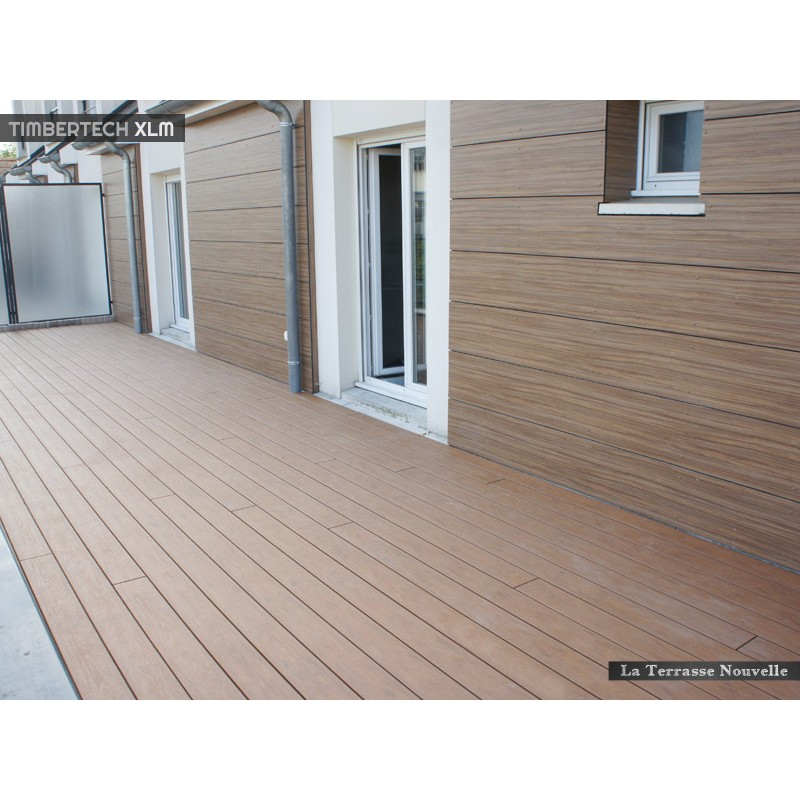 Lame composite la terrasse nouvelle for Timber decking thickness