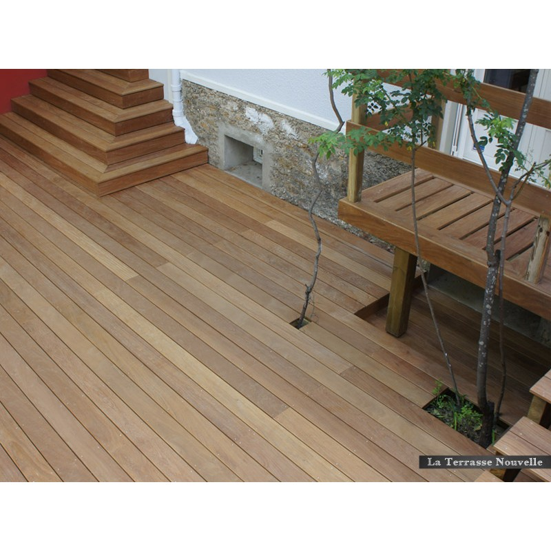 lame cumaru terrasse bois la terrasse nouvelle. Black Bedroom Furniture Sets. Home Design Ideas