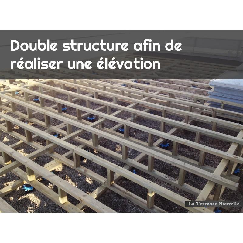 Lambourde exotique la terrasse nouvelle - Terrasse bois lambourdes ...