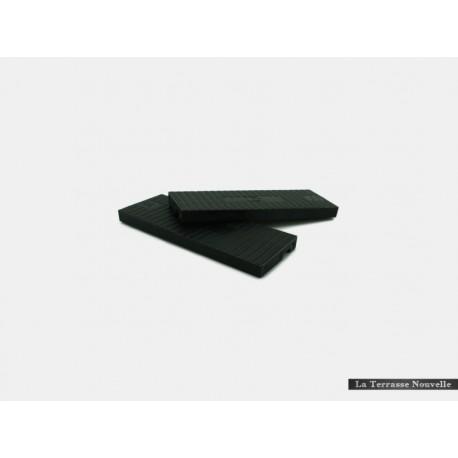 50 Cales Noires 6mm - terrasse bois