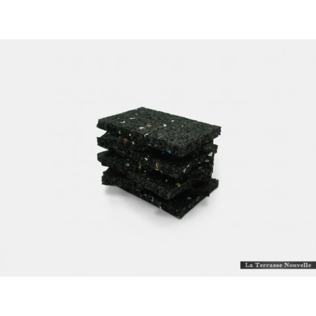 Granulé caoutchouc supérieur - 12 blocs de 9cm x 6cm