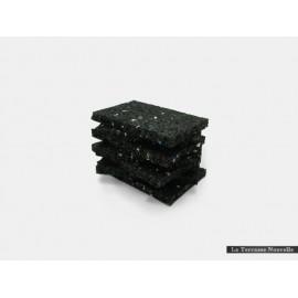 Granulé caoutchouc supérieur - 60 blocs de 9cm x 6cm